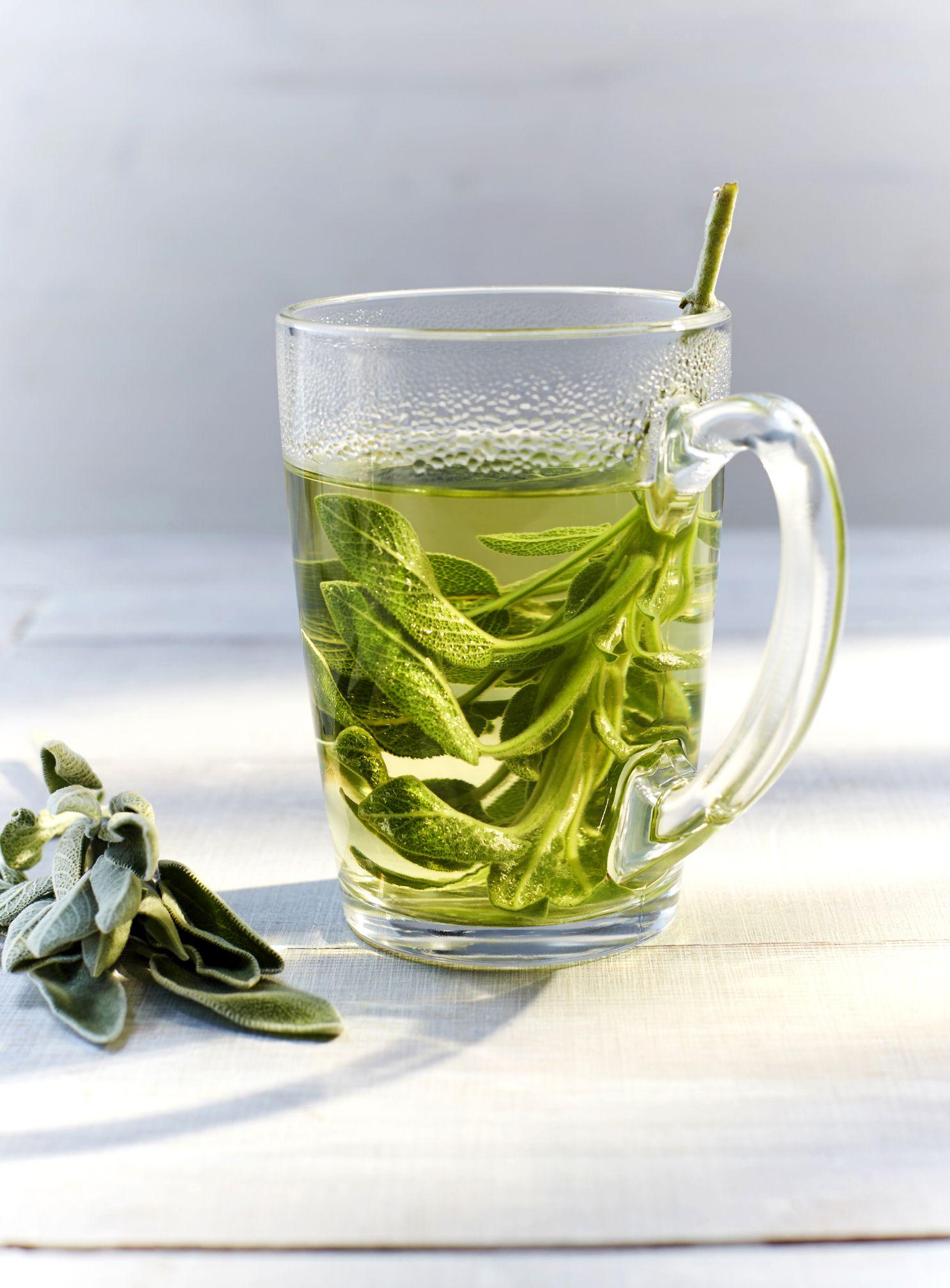 Sage Green Living Room: Sage Herbal Tea Recipe