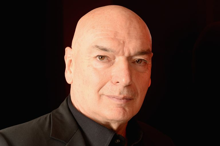 Architect Jean Nouvel in 2014, white man with shaved head