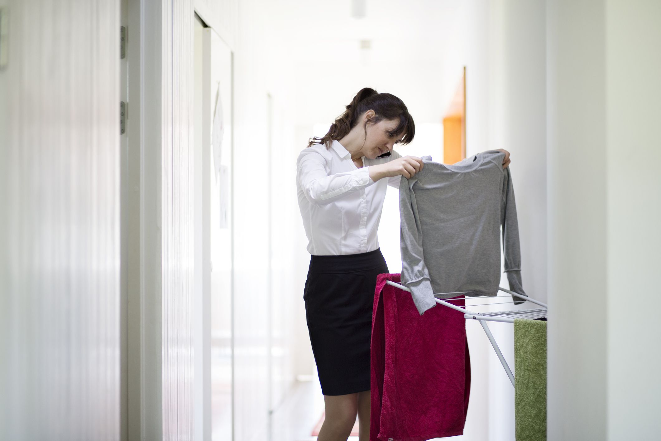 How To Prevent Clothes From Shrinking And Stretching