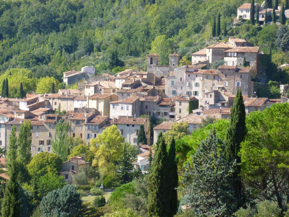 Seillans Hilltop Village in the Var