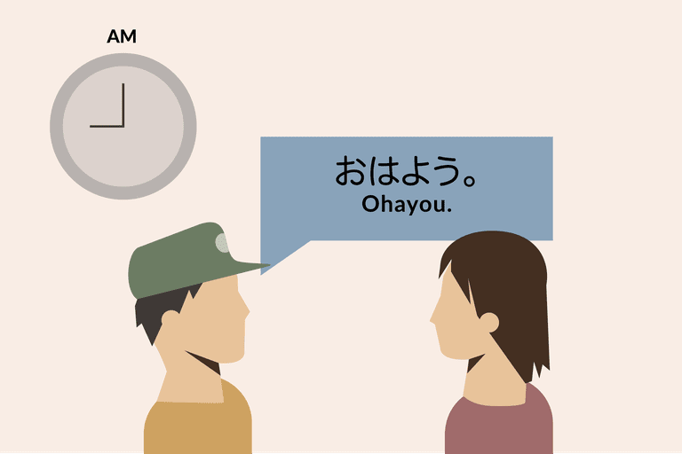 """Good Morning"" in Japanese"