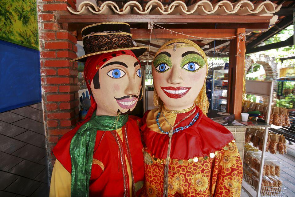 The giant dolls of Olinda's Carnival.