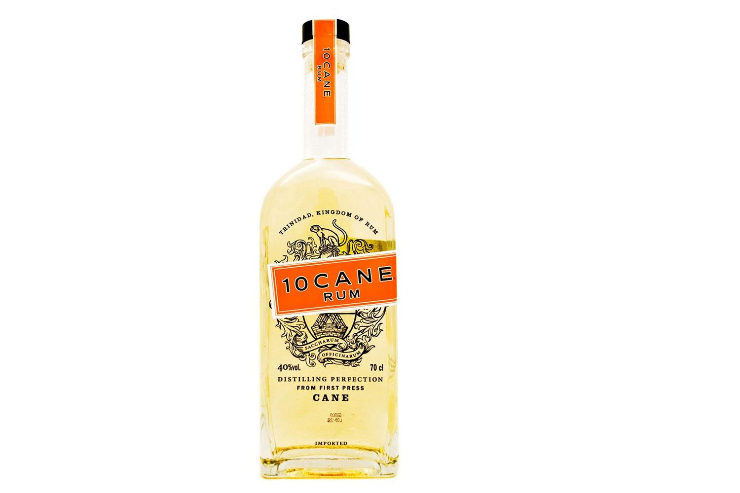 Review of the acclaimed 10 cane rum for Jj fish n chicken
