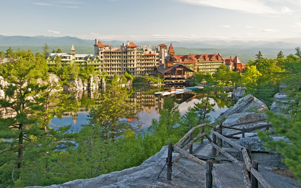 Mohonk resort in New York