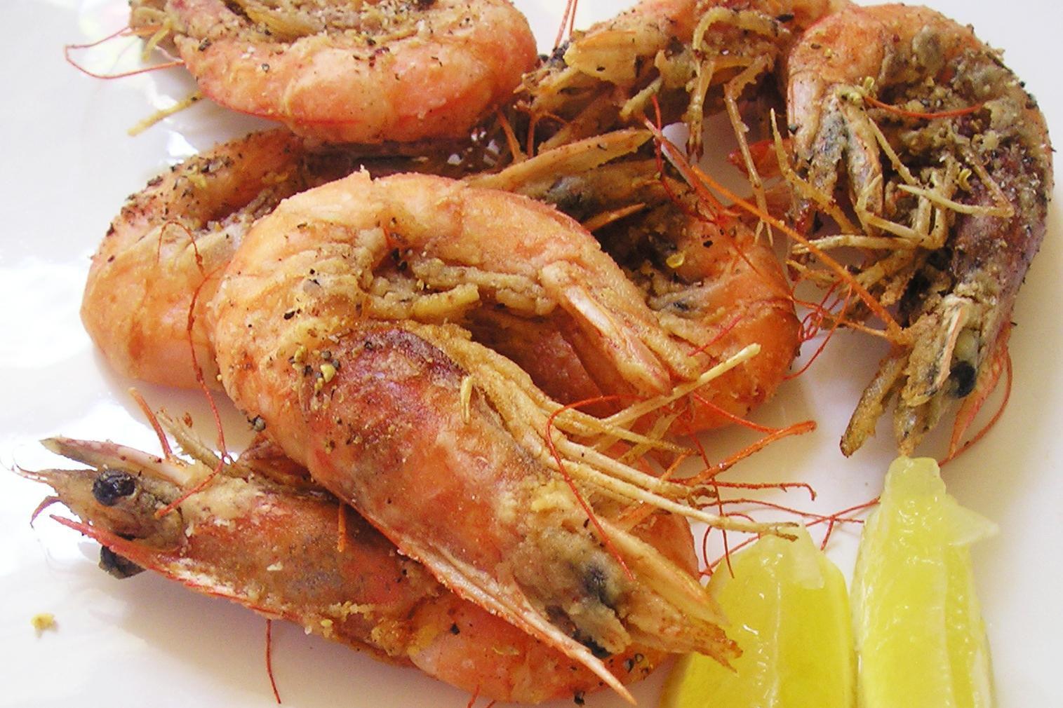 Deep Fried Salt And Pepper Shrimp Recipe
