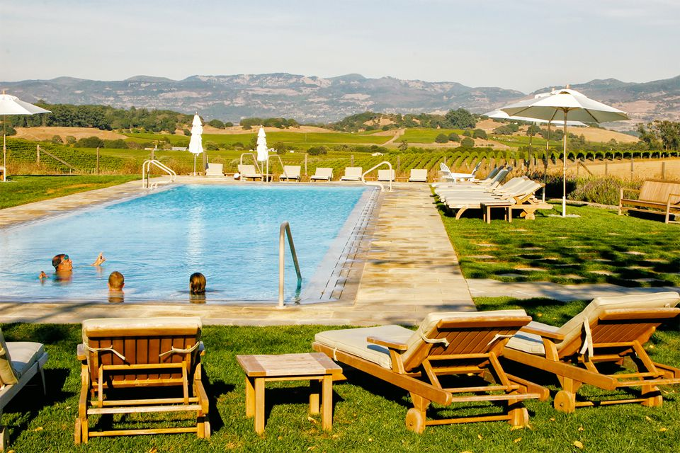 Swimming Pool at the Carneros Inn