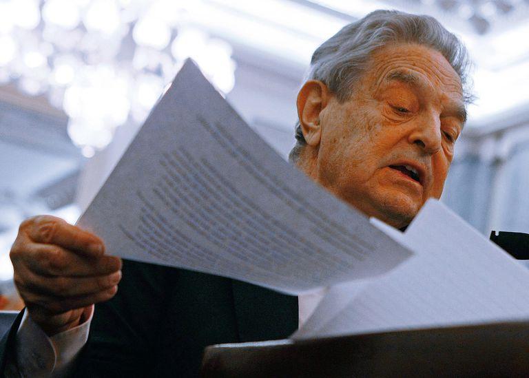 Hedge Fund Manager George Soros