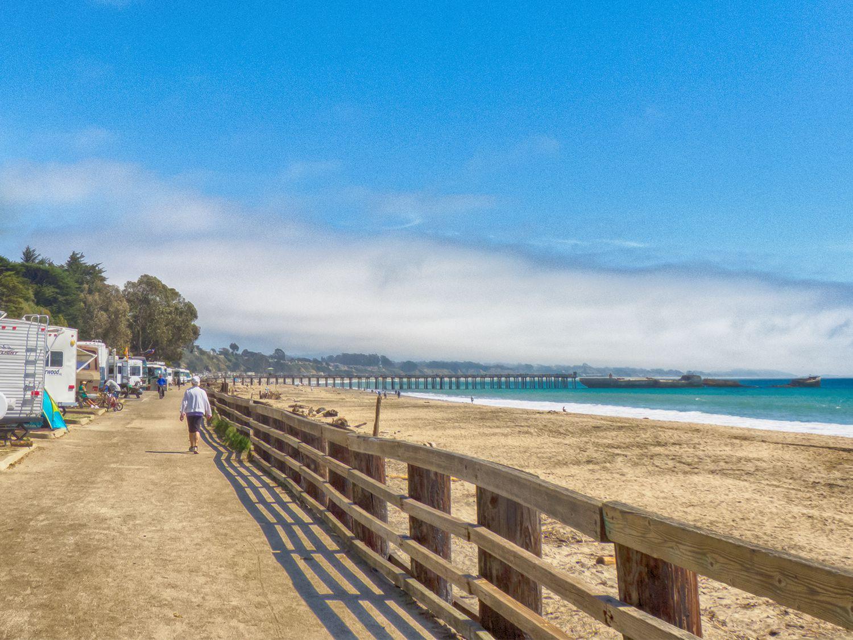 Seacliff State Beach Camping Near Santa Cruz