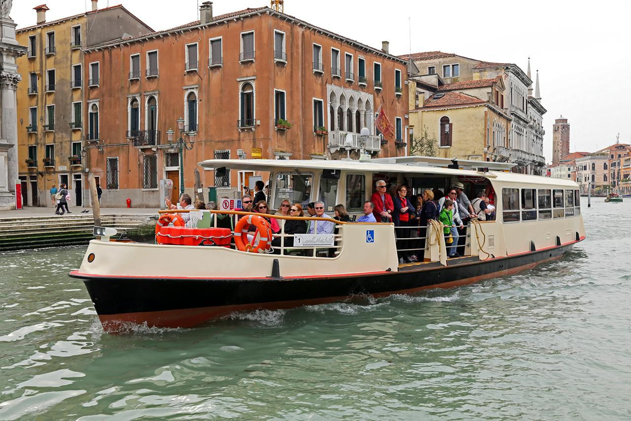 Public Transportation In Venice The Vaporetto