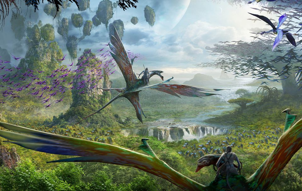 Avatar Flight of Passage ride