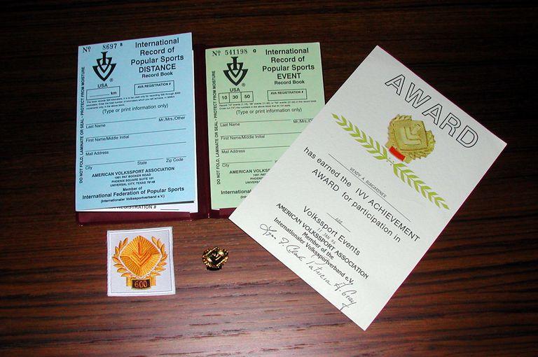 IVV Achievement Award Program Books
