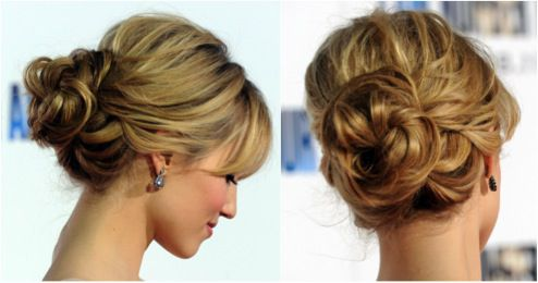 Messy Updos: The Top Casual Prom Hairstyles