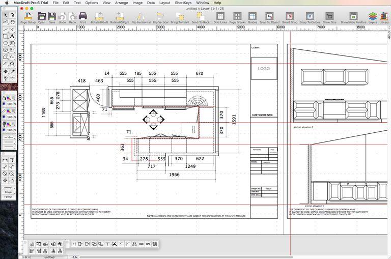 MacDraft Pro 6.2: Tom\'s Mac Software Pick