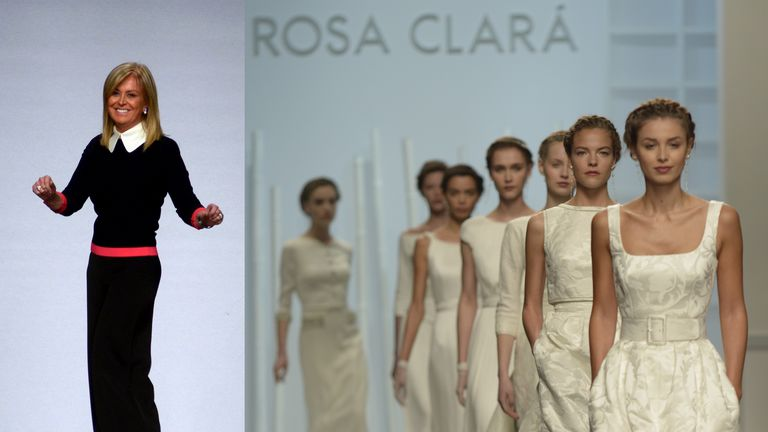 Rosa Clará y sus novias 2015