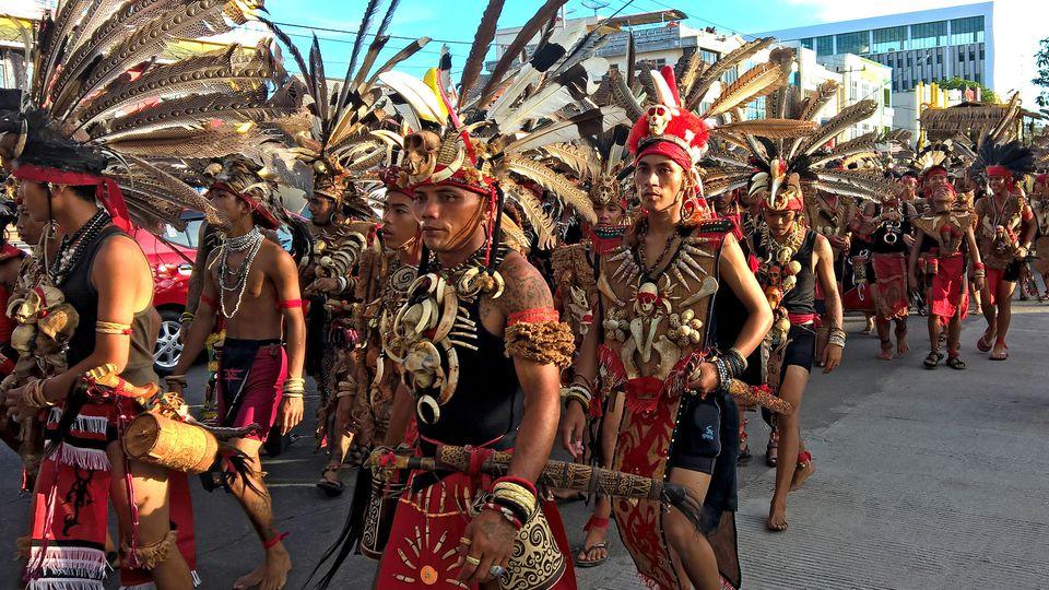 Gawai Dayak festival in Pontianak, Indonesia