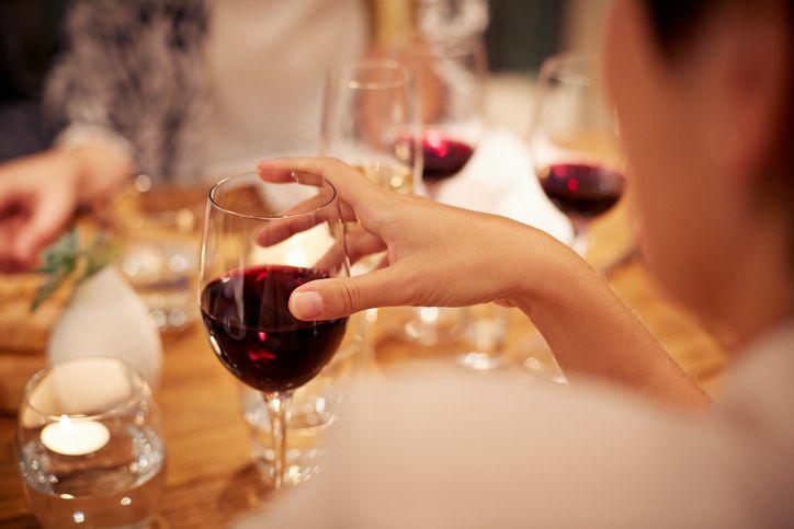 woman-drinking-wine