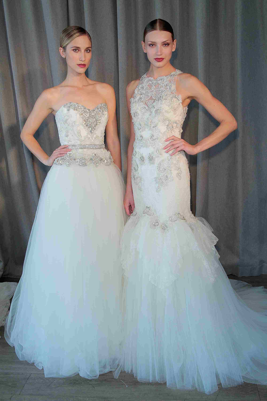 Top 8 diseñadores de vestidos de novia haute couture.