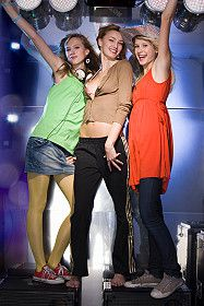 Teen Girls at a Party