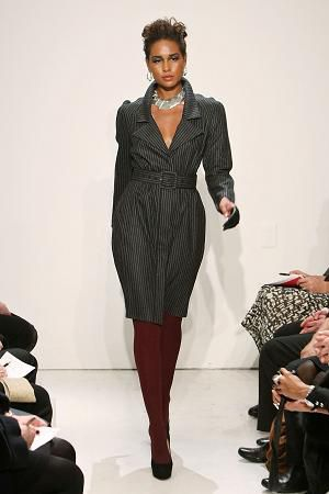 Stephen Burrows Gray Dress for Fall 2009