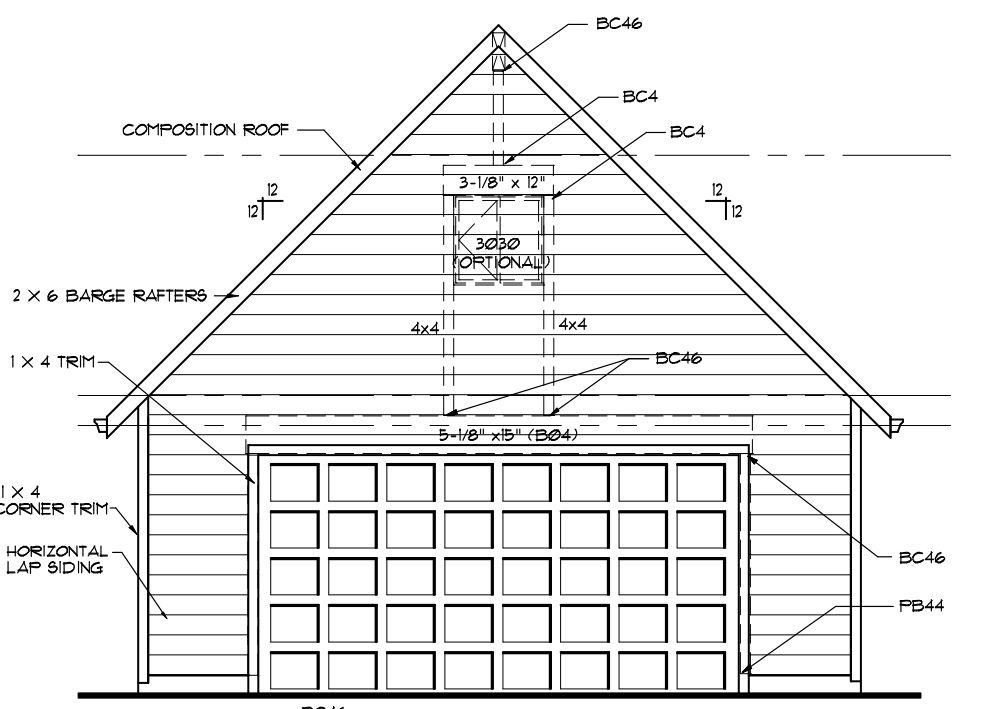 100 Garage Plan Custom 32 X 100 30 X 40 Garage
