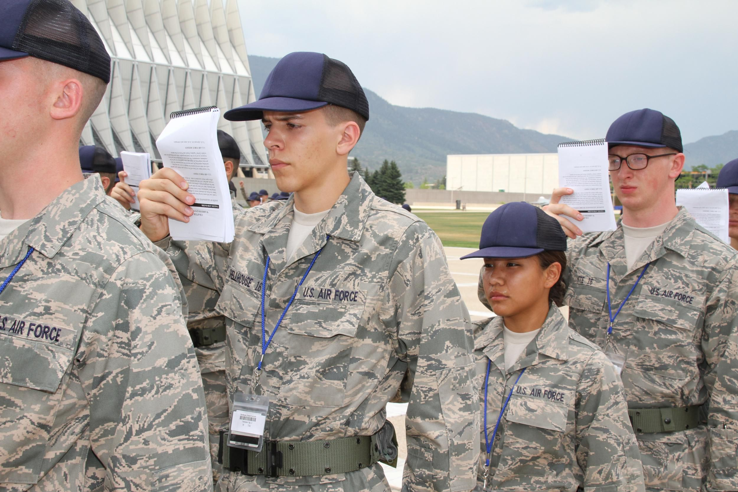 Surviving air force basic training - How to become an army officer after college ...