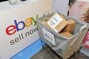 a delivery bin at eBay