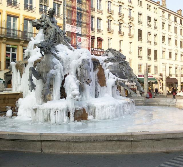 Lyon in Winter