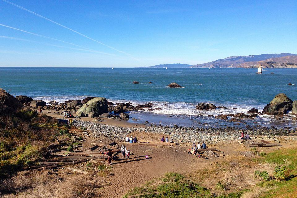 Lands End Beach, San Francisco