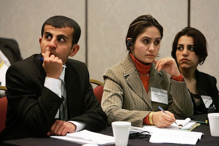 Iraqi Students Attend Moot Court Competition For First Time
