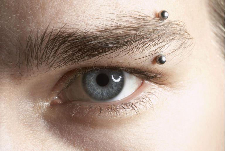 Eyebrow Piercings Info And Care Guide