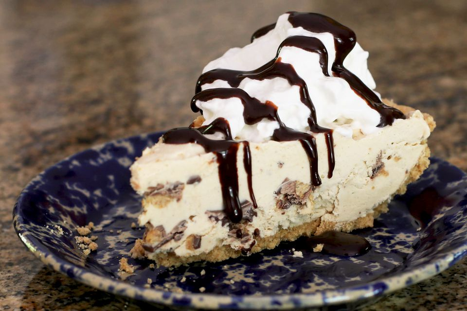 Frozen Peanut Butter Cup Pie
