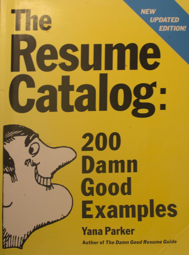 Review of The Resume Catalog: 200 Damn Good Examples