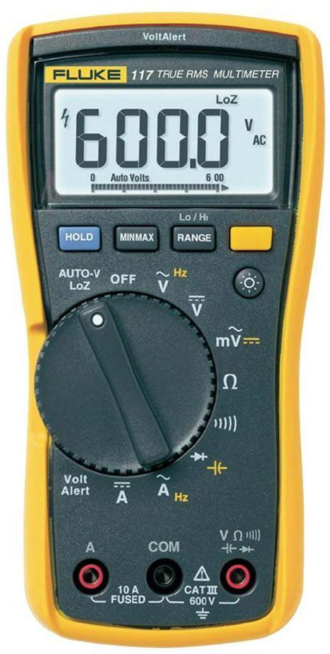Photo of a Fluke 117 Electricians True RMS Multimeter