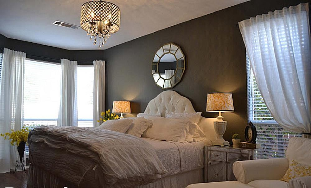 100 Bedroom Decorating Ideas Designs: Romantic Bedroom Decorating Ideas