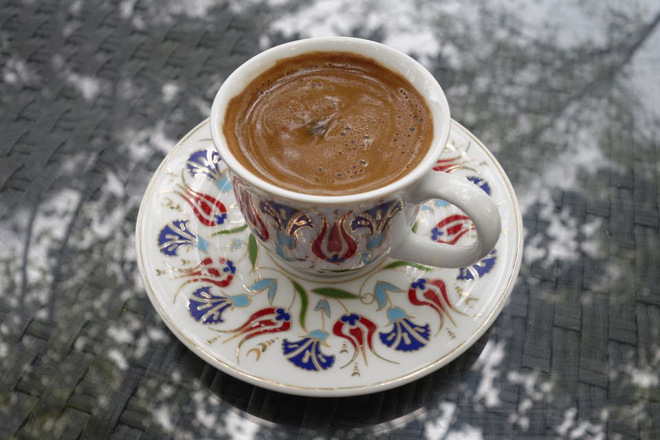 Turkey, Cup of Turkish coffee