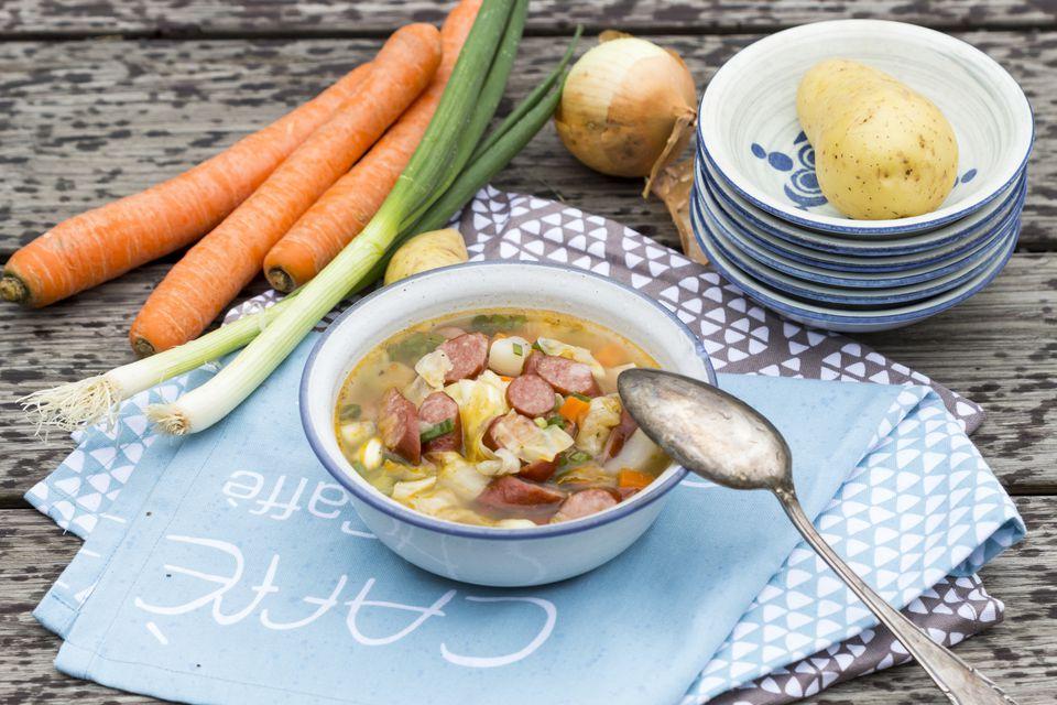 Sausage and potato stew