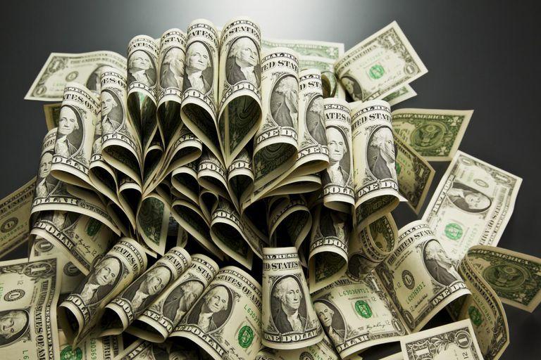 US dollart banknotes