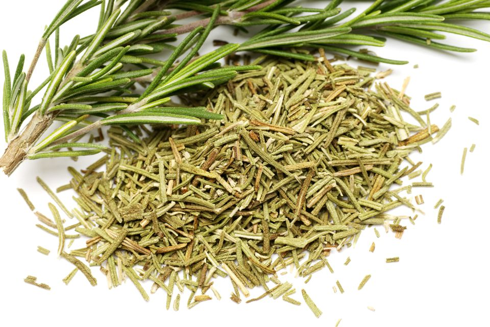 Rosemary: fresh and dried