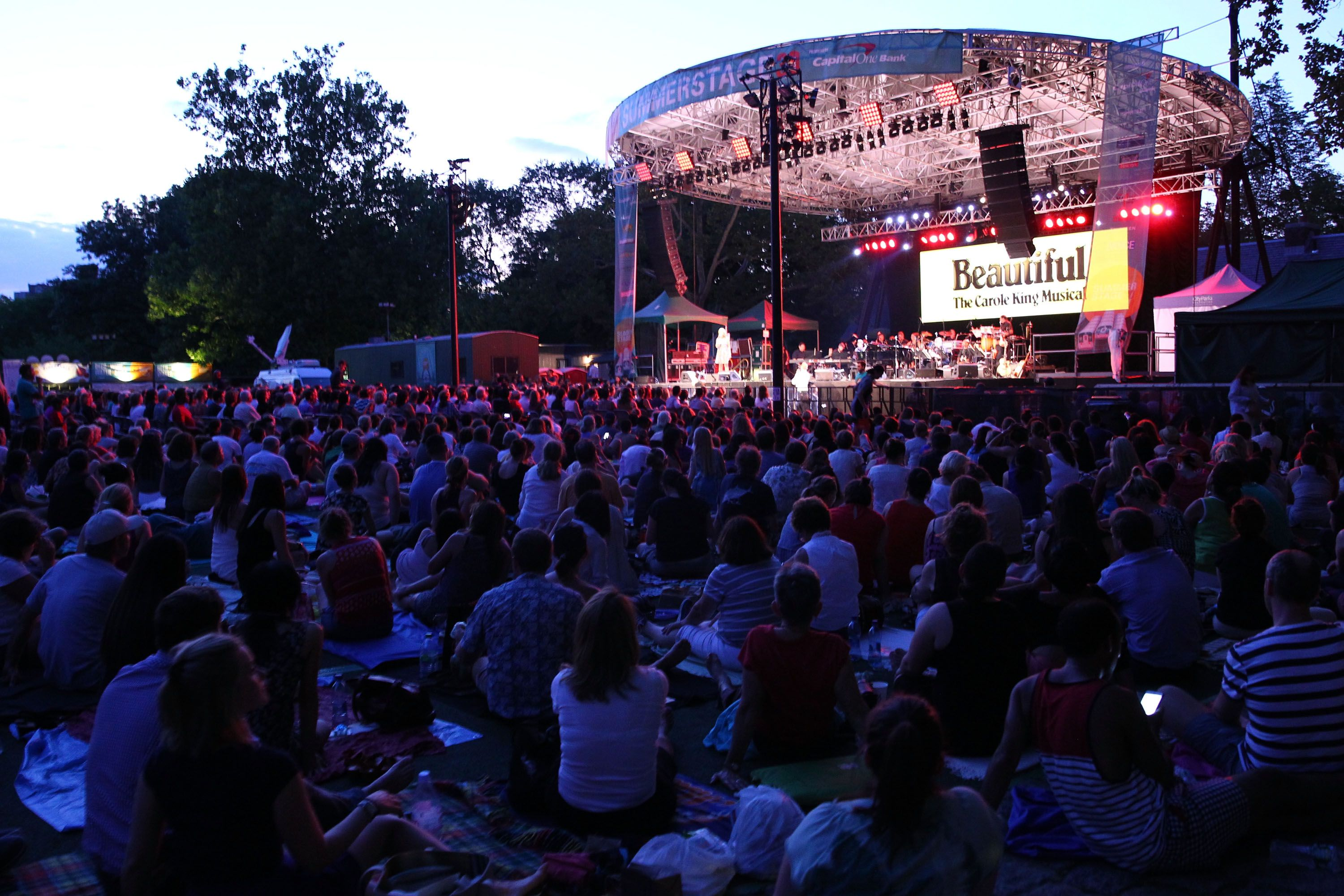 Free new york city summertime concerts for Events going on in new york city