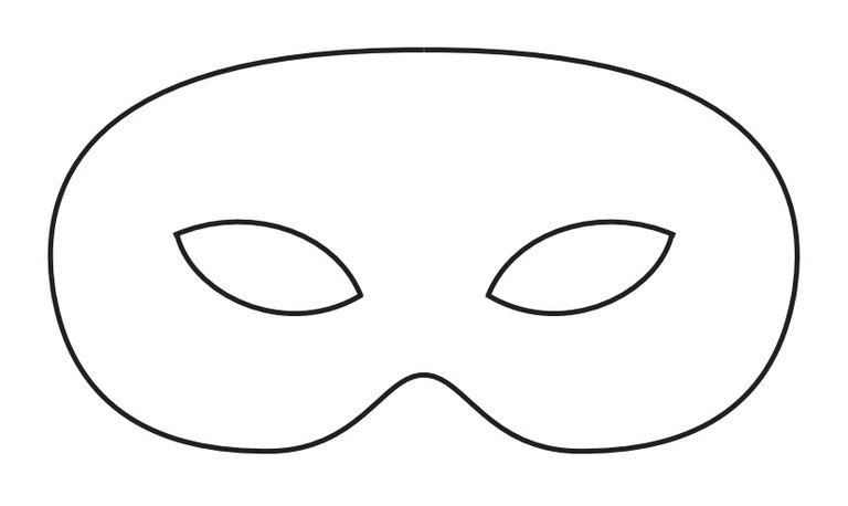 Genius image pertaining to masquerade mask template printable