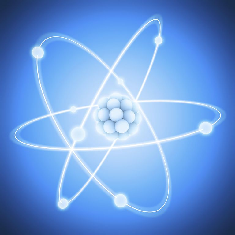 A neutral atom has the same number of protons, neutrons, and electrons.