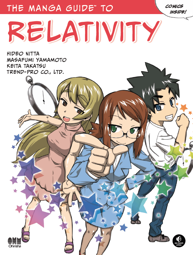 Cover To The Book Manga Guide Relativity