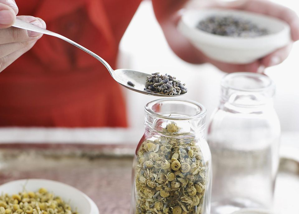 Making Tea Blends