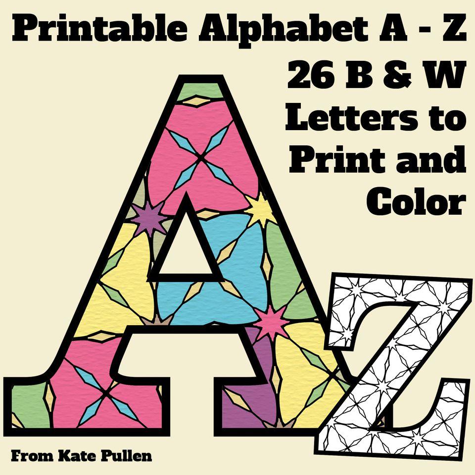 free printable alphabet letters - Boat.jeremyeaton.co