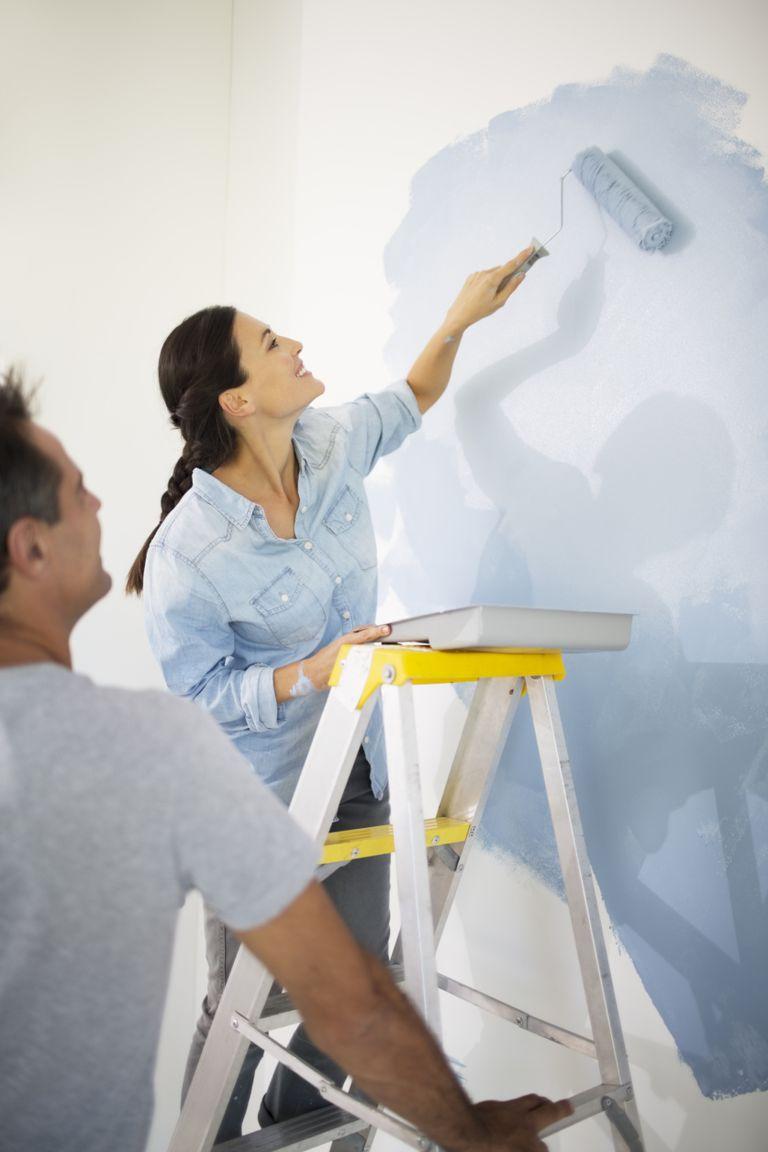 Pintando pared