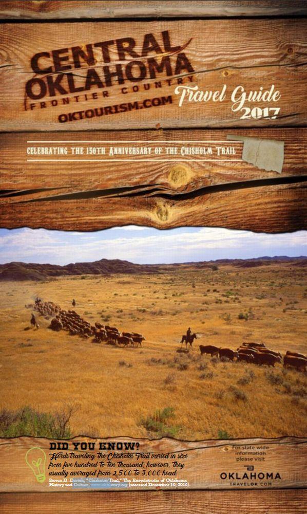 Central Oklahoma Travel Guide 2017