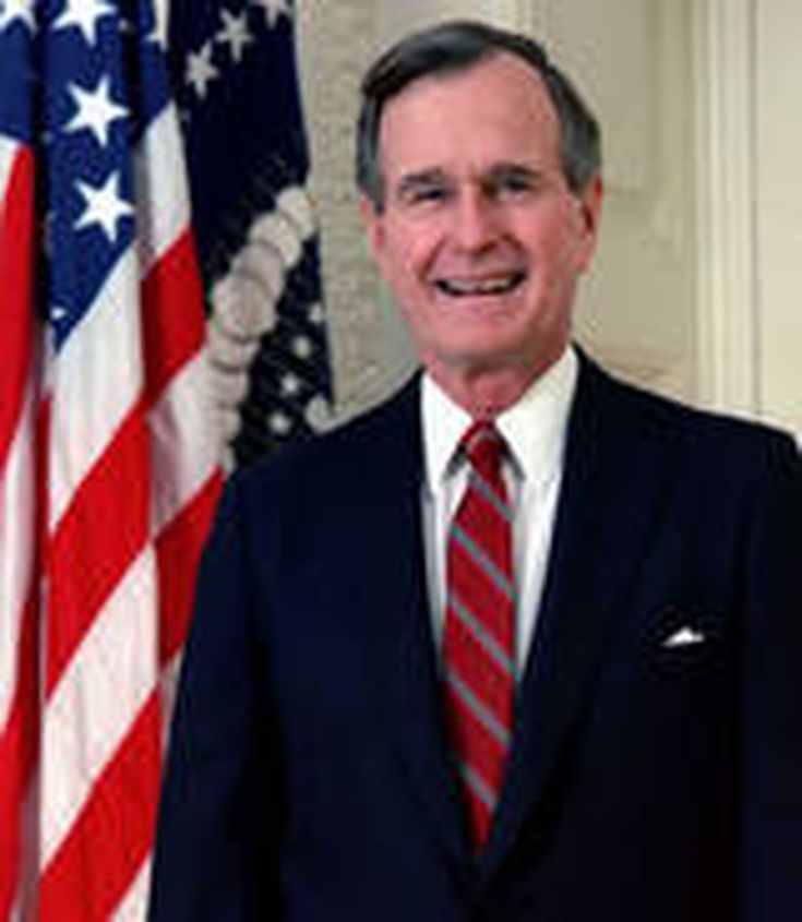 El presidente George H.W.Bush: biografía