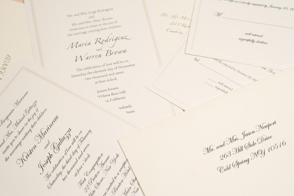 When to send out your wedding invitations junglespirit Gallery