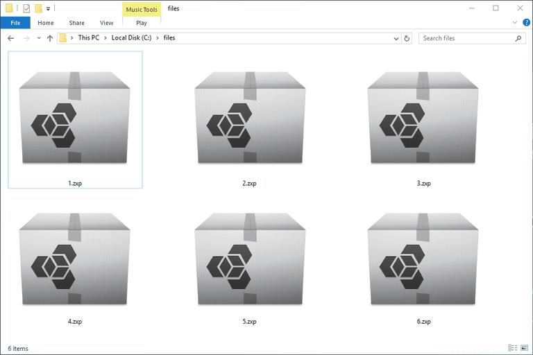 ZXP Files
