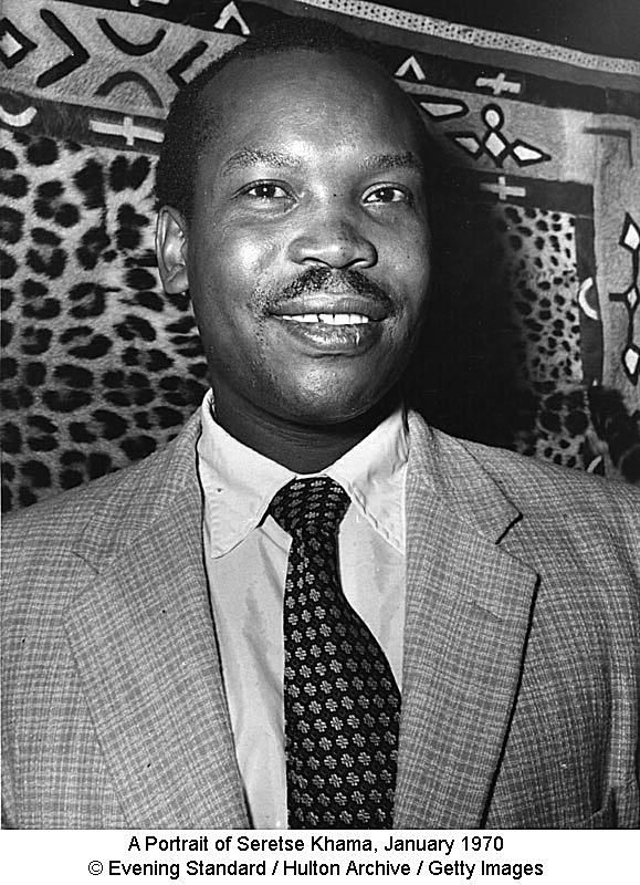 A Portrait of Seretse Khama, January 1970 © Evening Standard / Hulton Archive / Getty Images